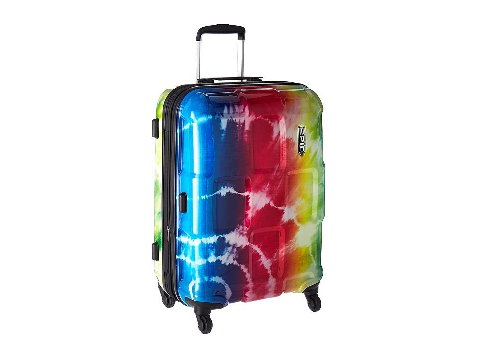 EPIC Travelgear Crate Wildlife EX 26 Trolley (Rainbow Tie-Dye) Luggage