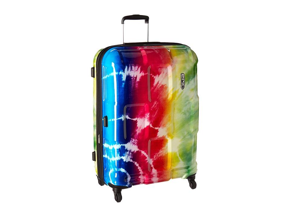 EPIC Travelgear Crate Wildlife EX 30 Trolley (Rainbow Tie-Dye) Luggage
