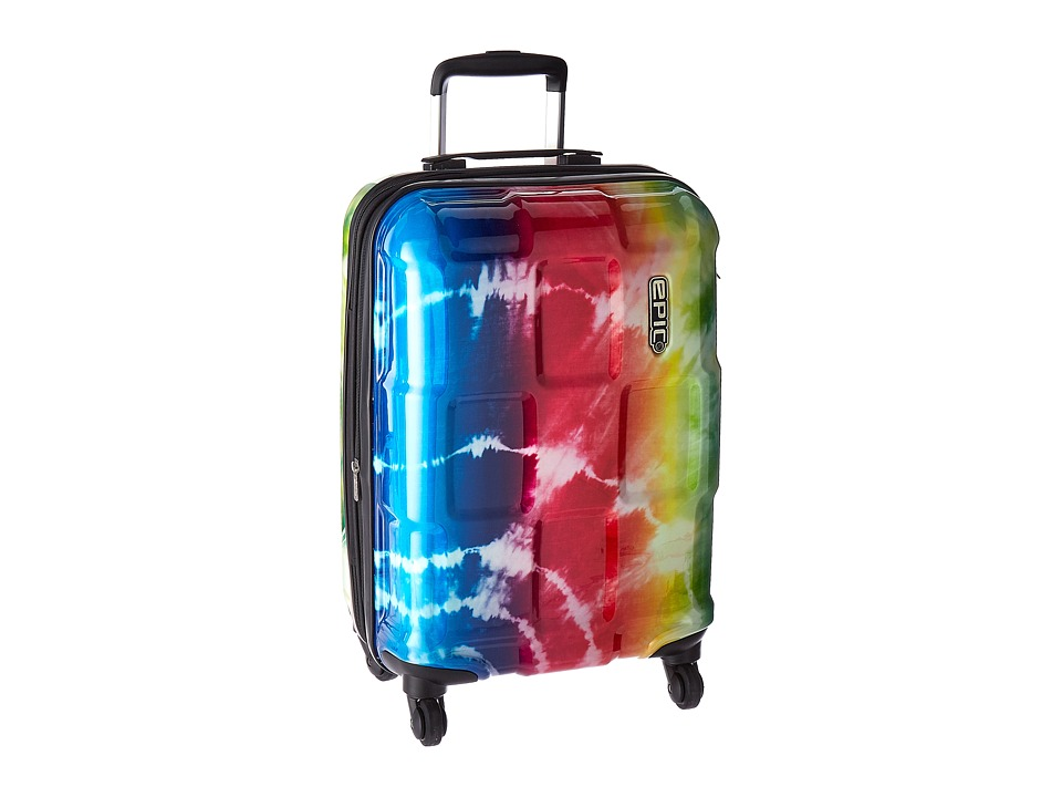 EPIC Travelgear Crate Wildlife EX 22 Trolley (Rainbow Tie-Dye) Luggage