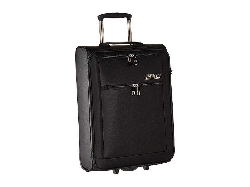 EPIC Travelgear Milligram 22 Trolley (Black) Luggage