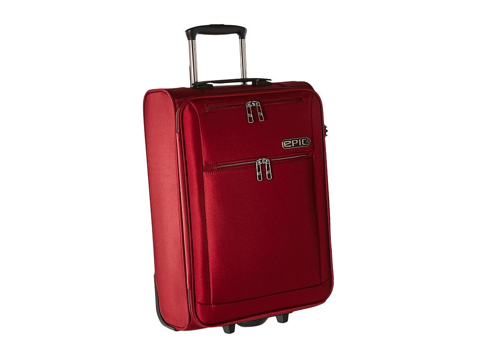 EPIC Travelgear Milligram 22 Trolley (Red) Luggage
