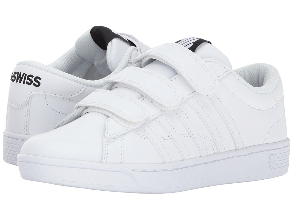 K-Swiss Hoke 3-Strap CMF (White/Black) Women