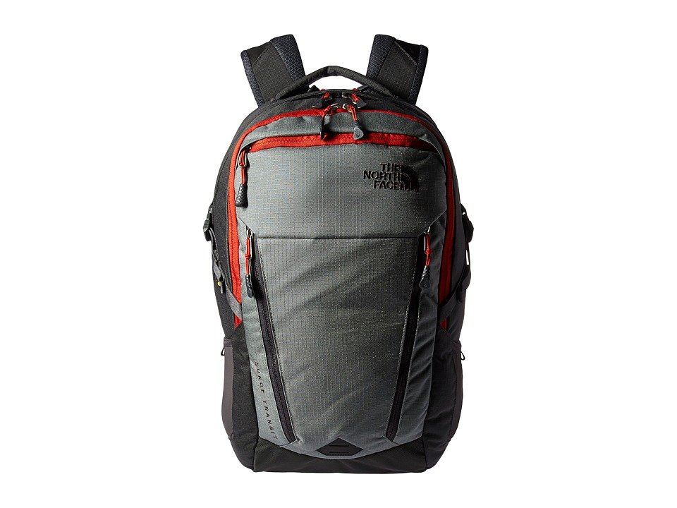 The North Face - Surge Transit Backpack (Sedona Sage Grey/Asphalt Grey) Backpack Bags