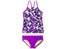 Nike Kids Optic Pop Racerback Tankini (Big Kids)