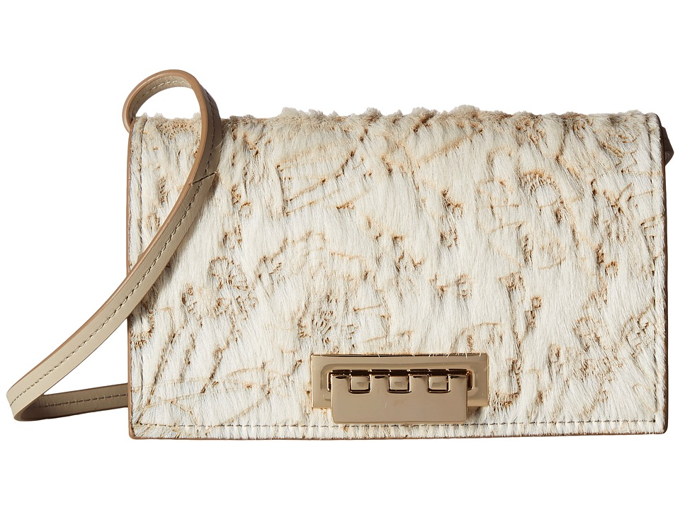 ZAC Zac Posen - Earthette Crossbody (Almond) Cross Body Handbags