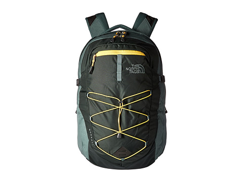 The North Face Borealis Backpack - Darkest Spruce/Silver Pine Green Light Heather
