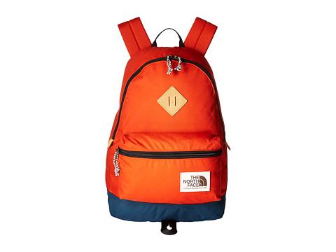 The North Face Berkeley Backpack - Tibertan Orange/Monterey Blue