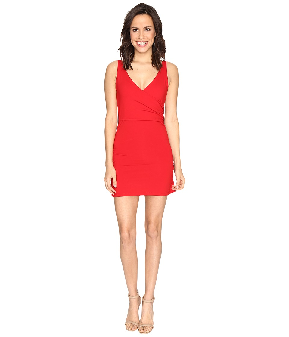 Susana Monaco Wrap Tank Dress (Perfect Red) Women