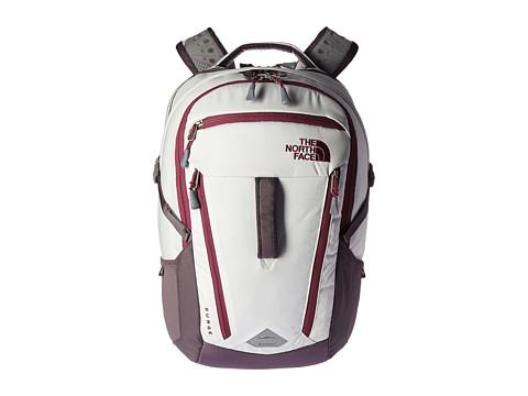 The North Face Women s Surge Backpack - Vaporous Grey Light Heather/Rabbit Grey