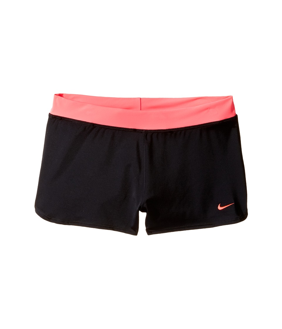 Nike Kids Cover-Up Shorts (Big Kids) (Black) Girl