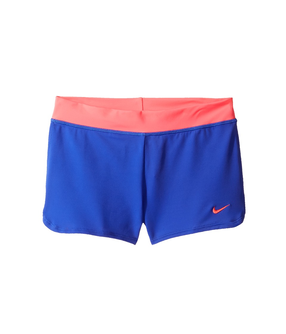 Nike Kids Cover-Up Shorts (Big Kids) (Paramount Blue) Girl