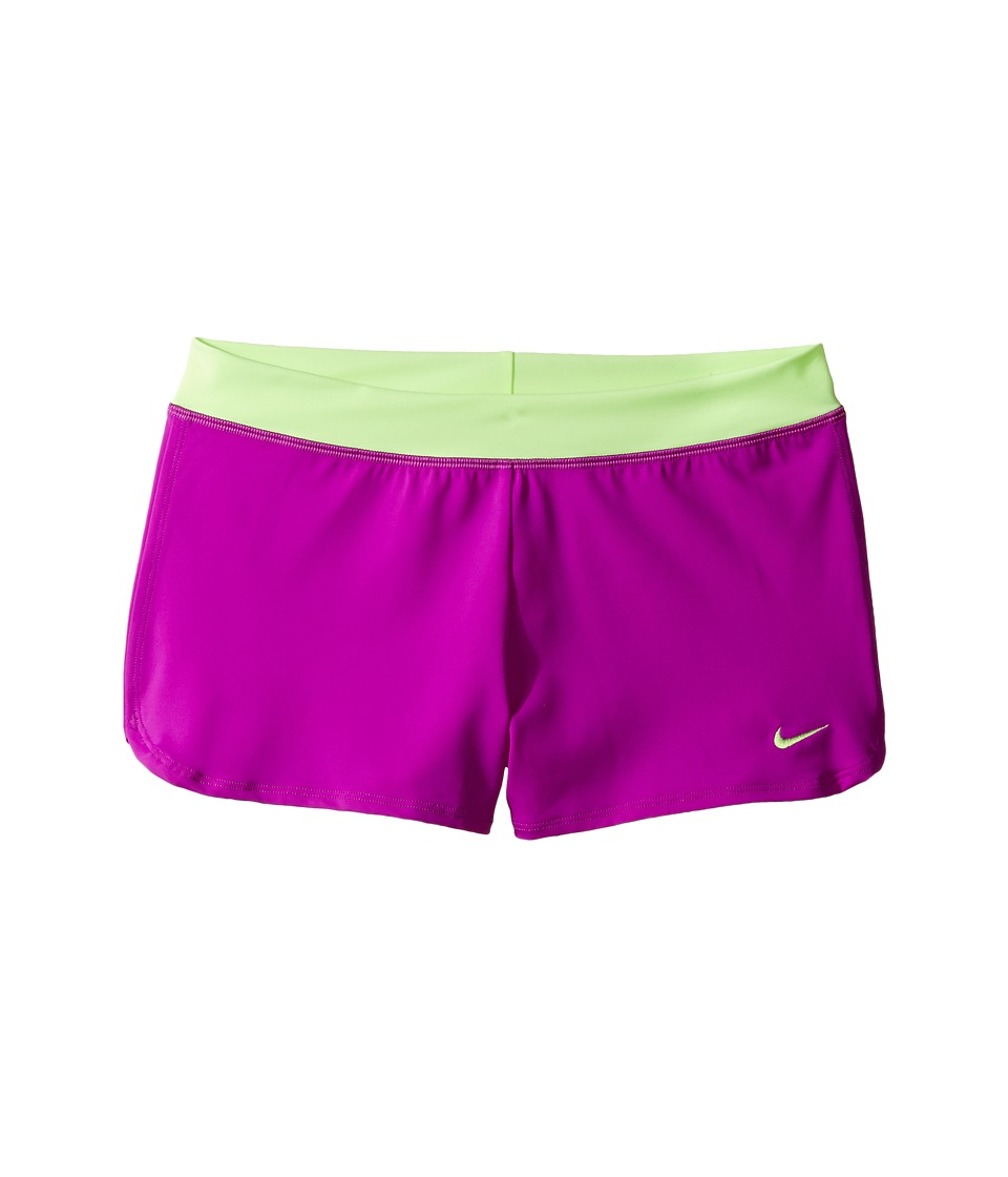 Nike Kids Cover-Up Shorts (Big Kids) (Vivid Purple) Girl