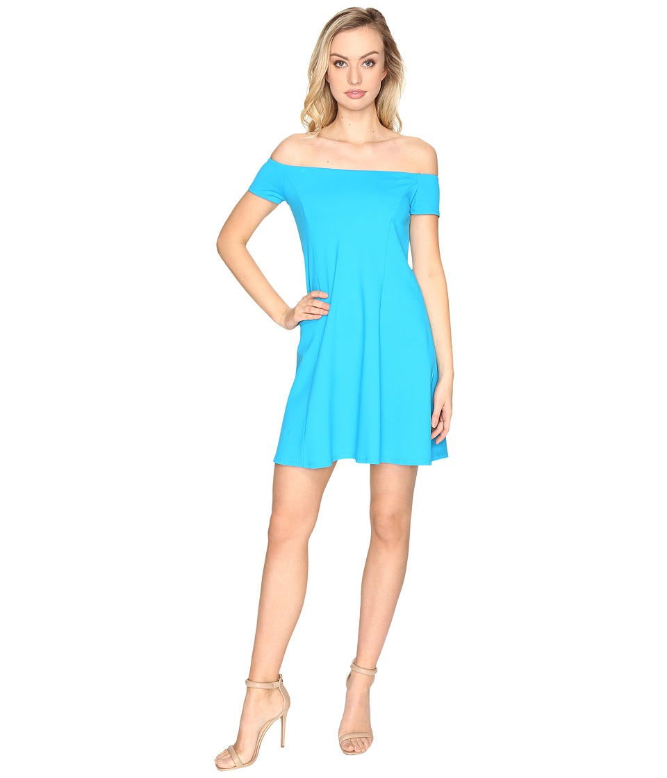 Susana Monaco Abigail Dress (Turquoise) Women