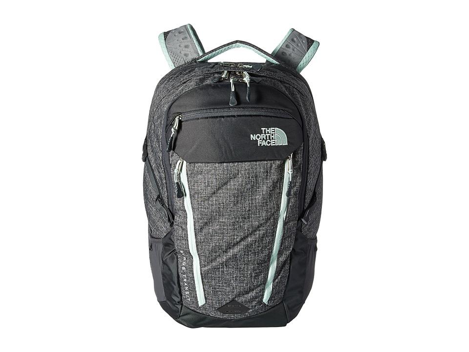 North Face Surge Transit Backpack (Asphalt Grey Dark Heat...