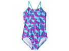 Nike Kids Graphic Crossback One-Piece Swimsuit (Little Kids/Big Kids)