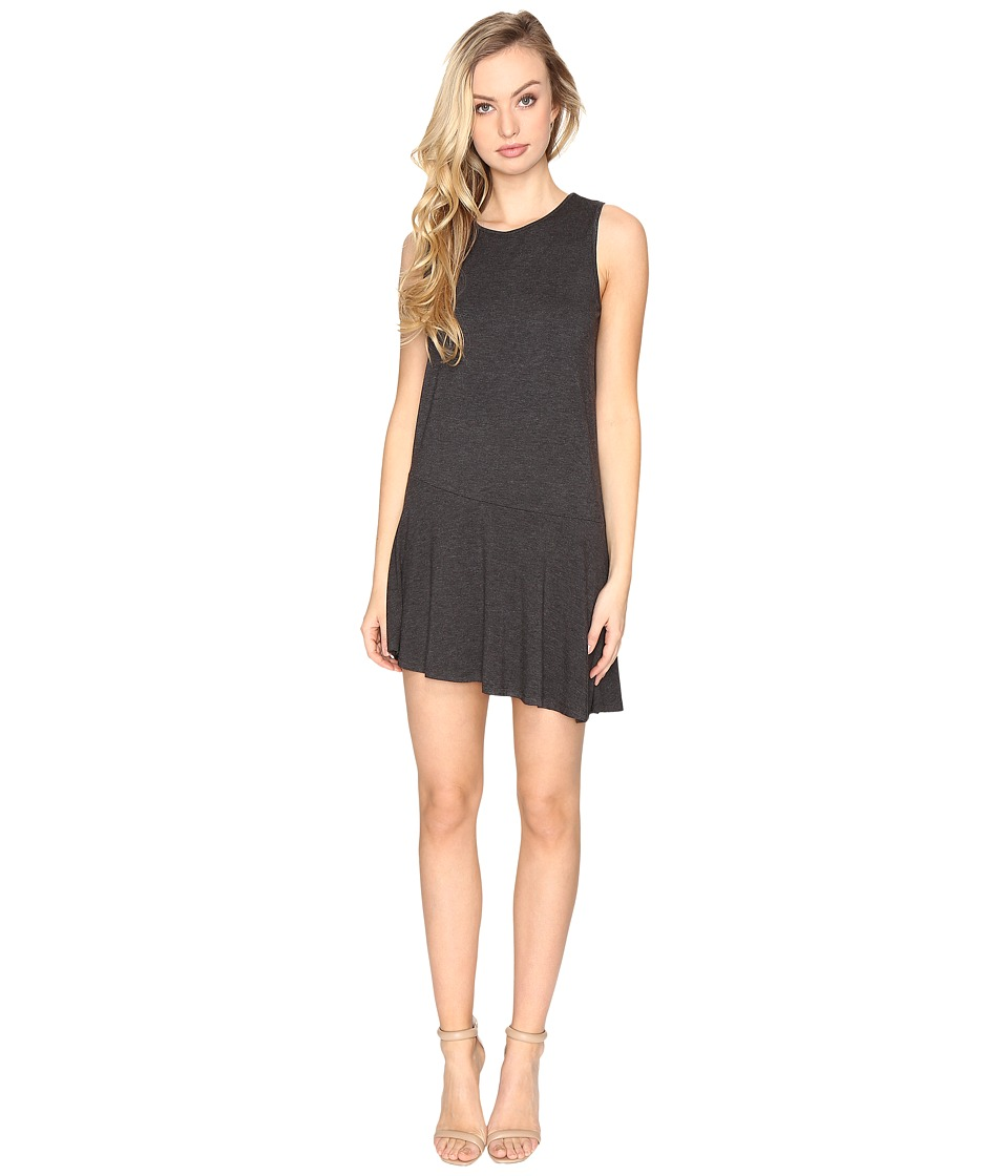Susana Monaco Rhianna Dress (Charcoal Melange) Women