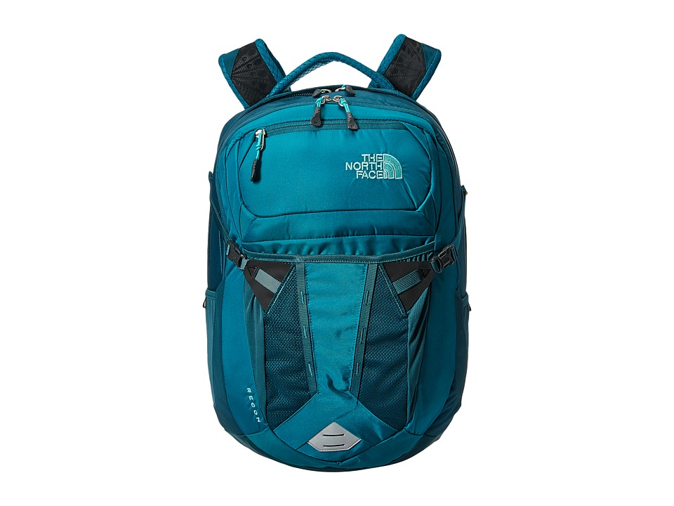The North Face - Womens Recon (Harbor Blue/Atlantic Deep) Backpack Bags