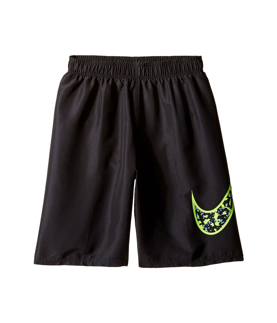 Nike Kids Core Swoosh 9 Trunk (Big Kids) (Black) Boy