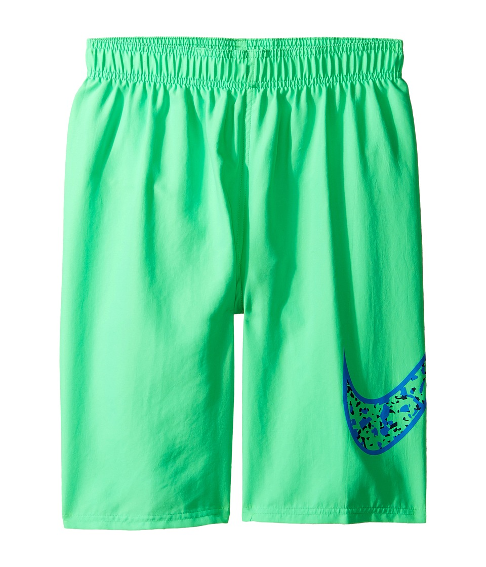 Nike Kids Core Swoosh 9 Trunk (Big Kids) (Electro Green) Boy