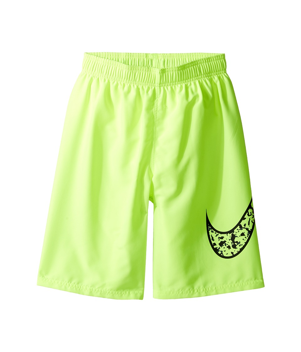 Nike Kids Core Swoosh 9 Trunk (Big Kids) (Volt) Boy