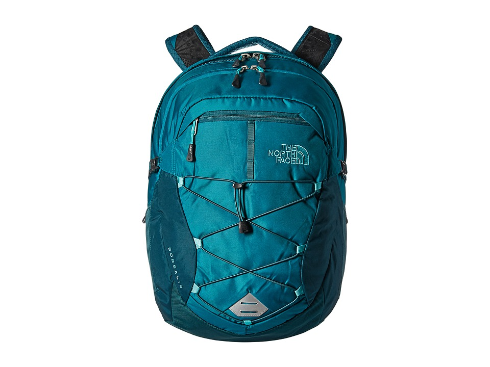 The North Face - Womens Borealis (Harbor Blue/Atlantic Deep Blue) Backpack Bags