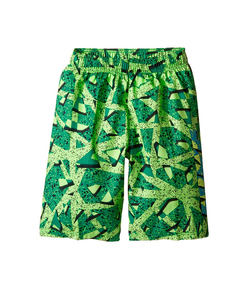 Nike Kids Granite 9 Volley Shorts (Big Kids) (Electro Green) Boy