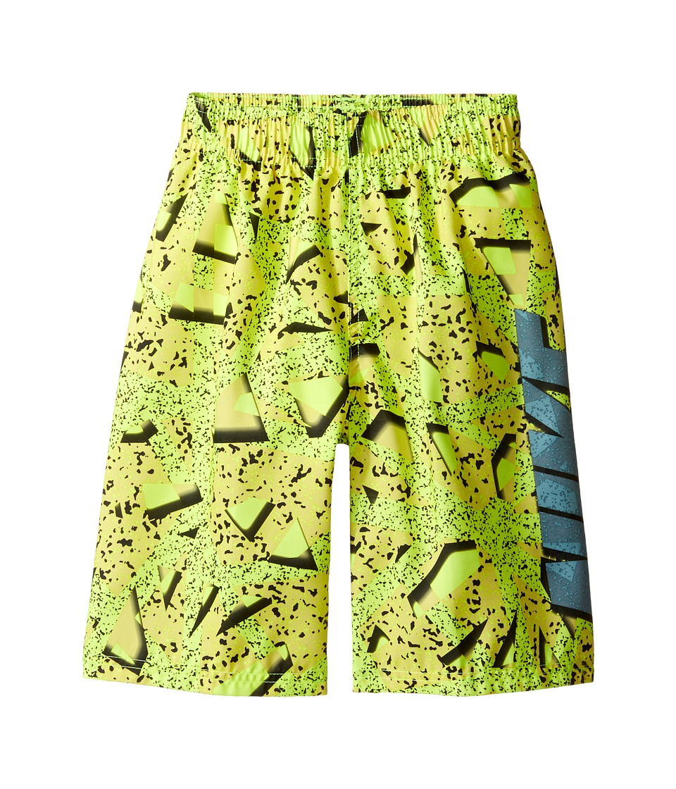 Nike Kids Granite 9 Volley Shorts (Big Kids) (Volt) Boy