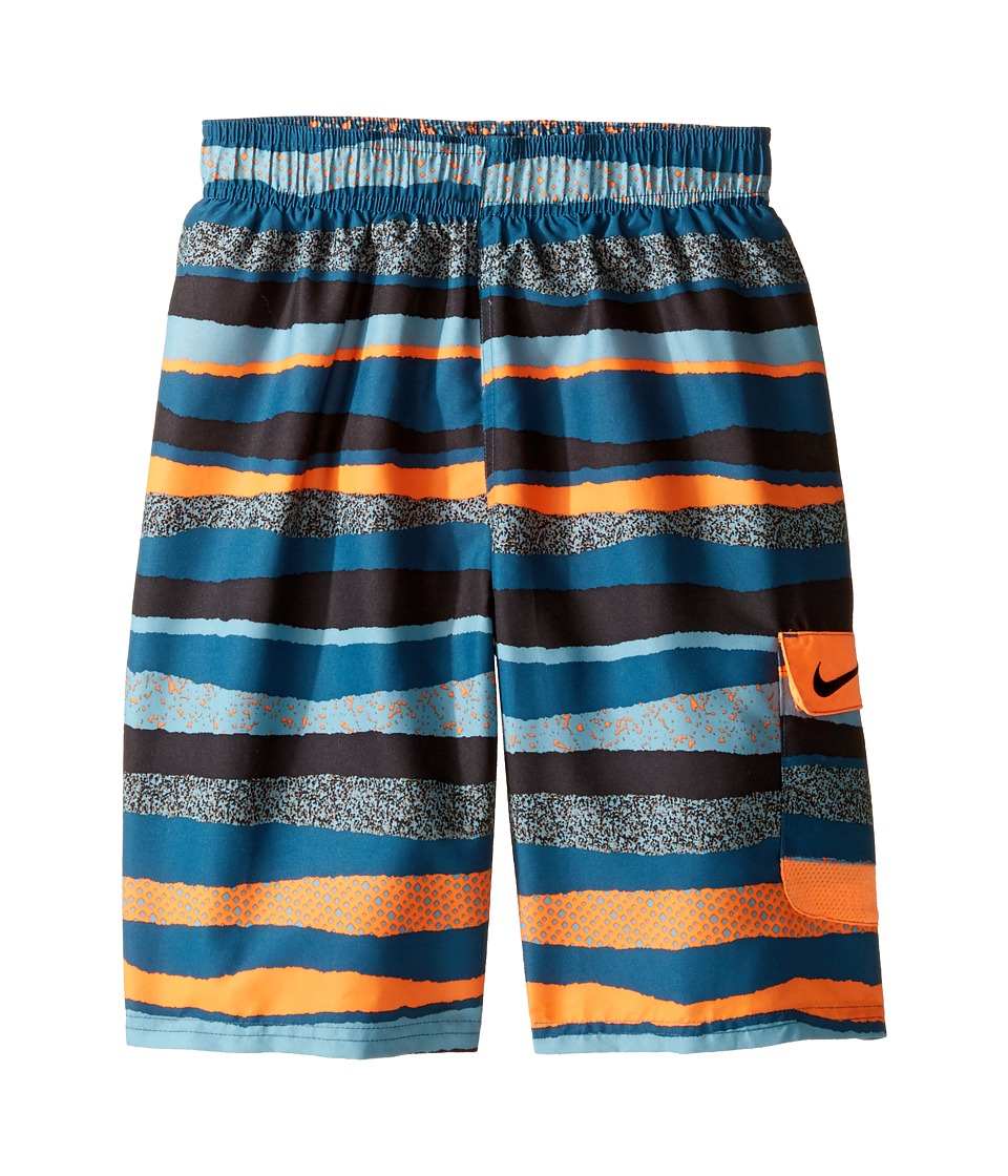 Nike Kids Tide 9 Volley Shorts (Big Kids) (Tart) Boy