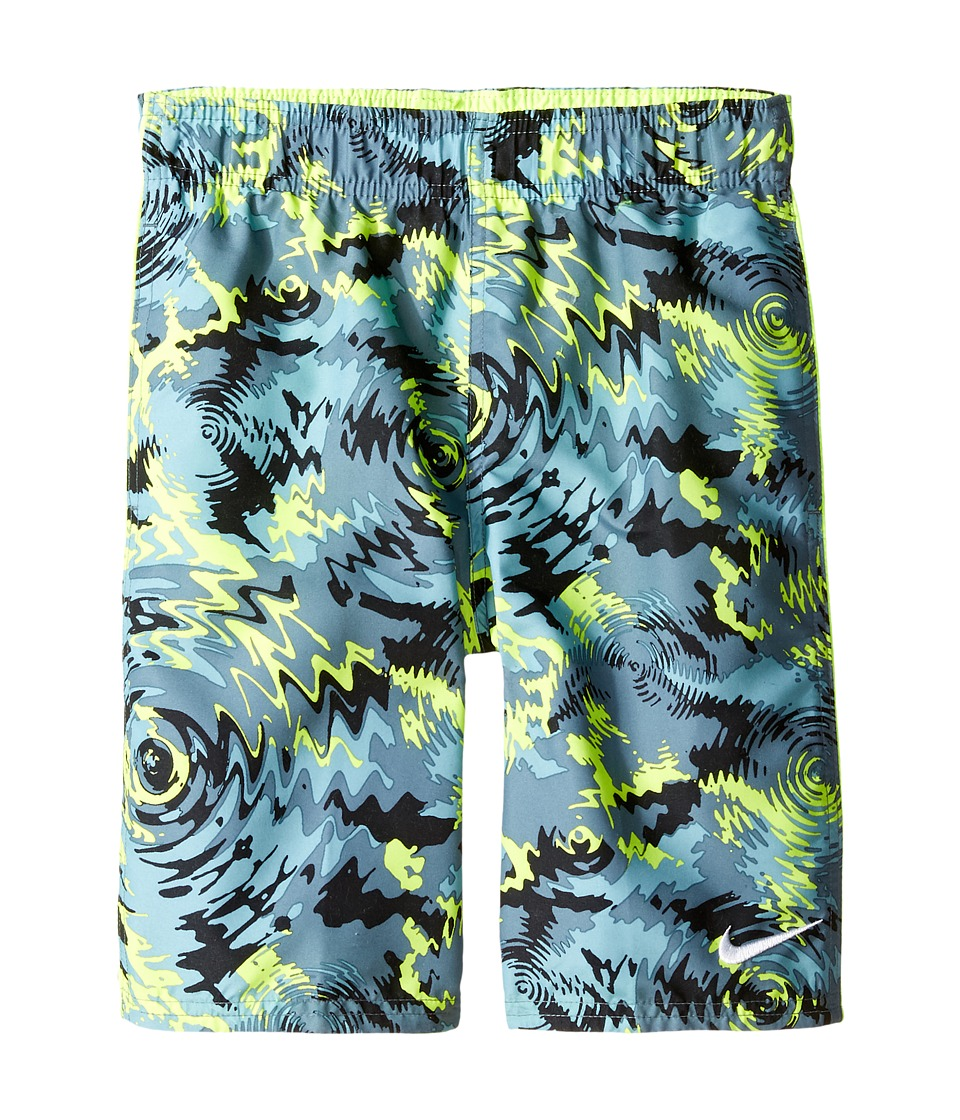 Nike Kids Watercamo 9 Trunk (Big Kids) (Volt) Boy