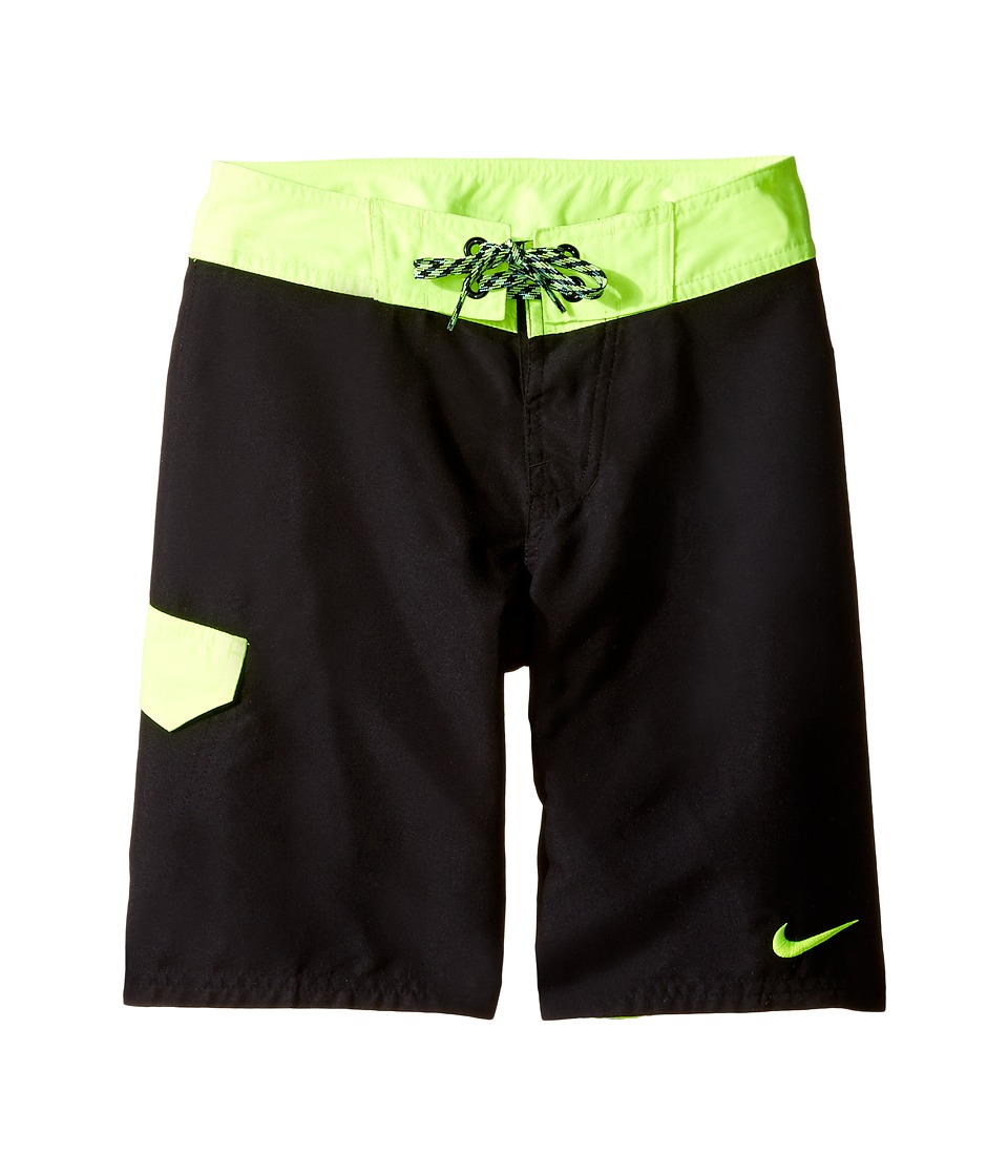 Nike Kids Core Solid 9 Boardshort (Big Kids) (Black) Boy
