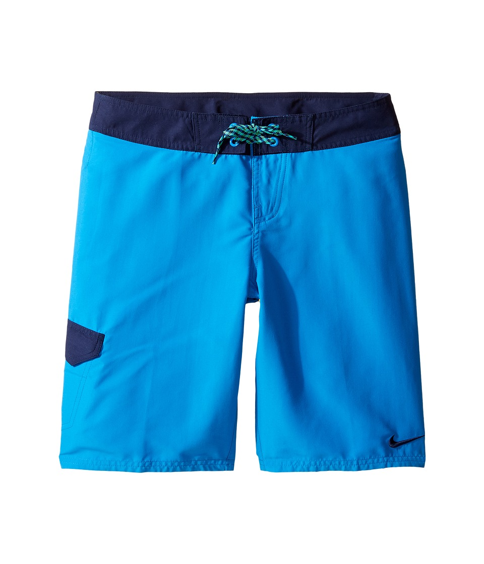 Nike Kids Core Solid 9 Boardshort (Big Kids) (Light Photo Blue) Boy