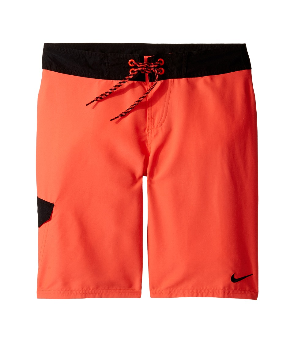 Nike Kids Core Solid 9 Boardshort (Big Kids) (Bright Crimson) Boy