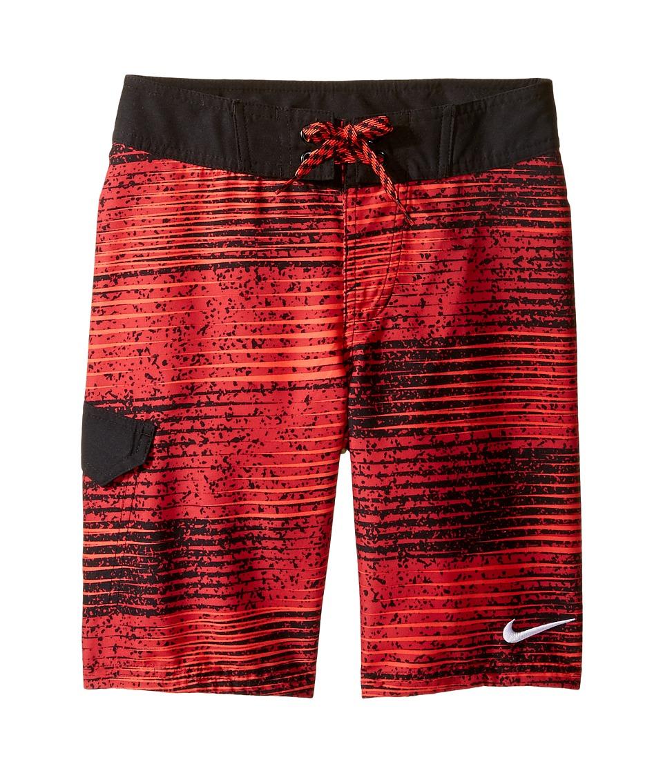 Nike Kids Fade 9 Boardshorts (Big Kids) (Gym Red) Boy