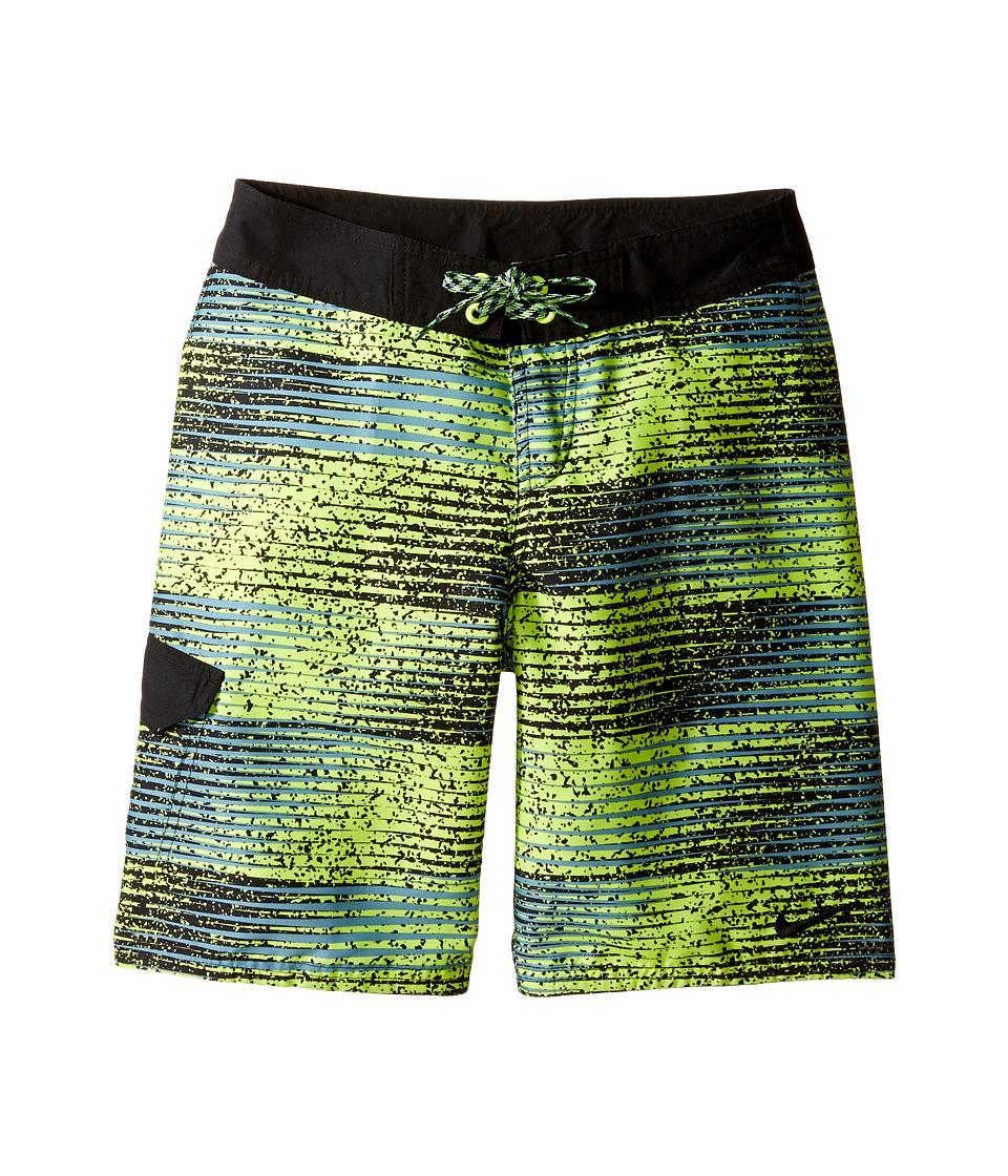 Nike Kids Fade 9 Boardshorts (Big Kids) (Volt) Boy