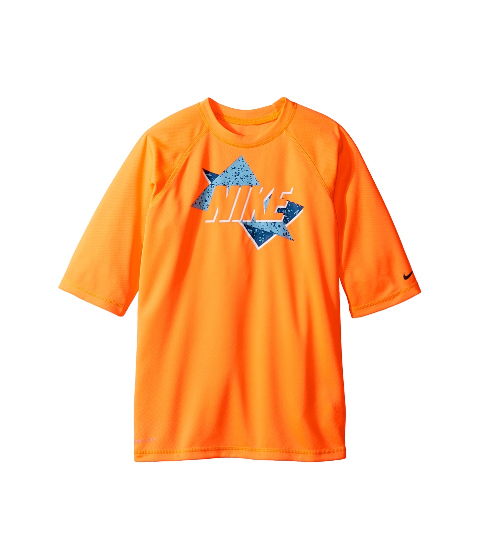 Nike Kids Throwback Short Sleeve UV Top (Big Kids) (Tart) Boy