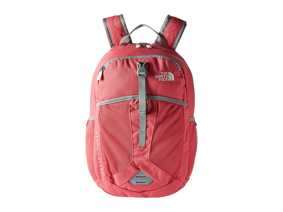 The North Face Recon Squash (Youth) (Honeysuckle Pink/Purdy Pink) Backpack Bags