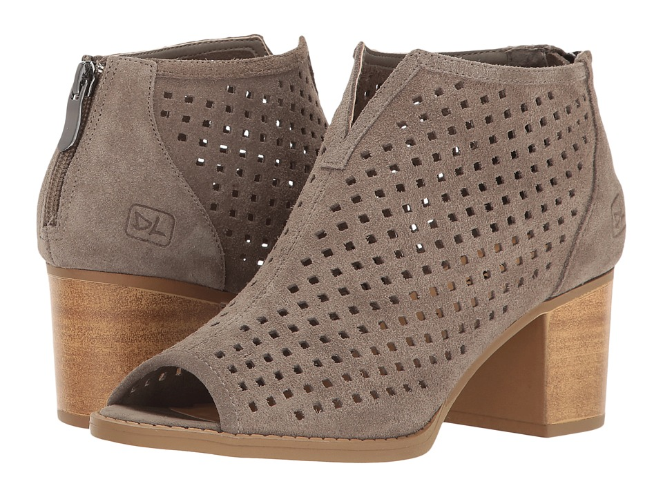 Dirty Laundry - Too Cute Split (Grey Suede) Womens Pull-on Boots