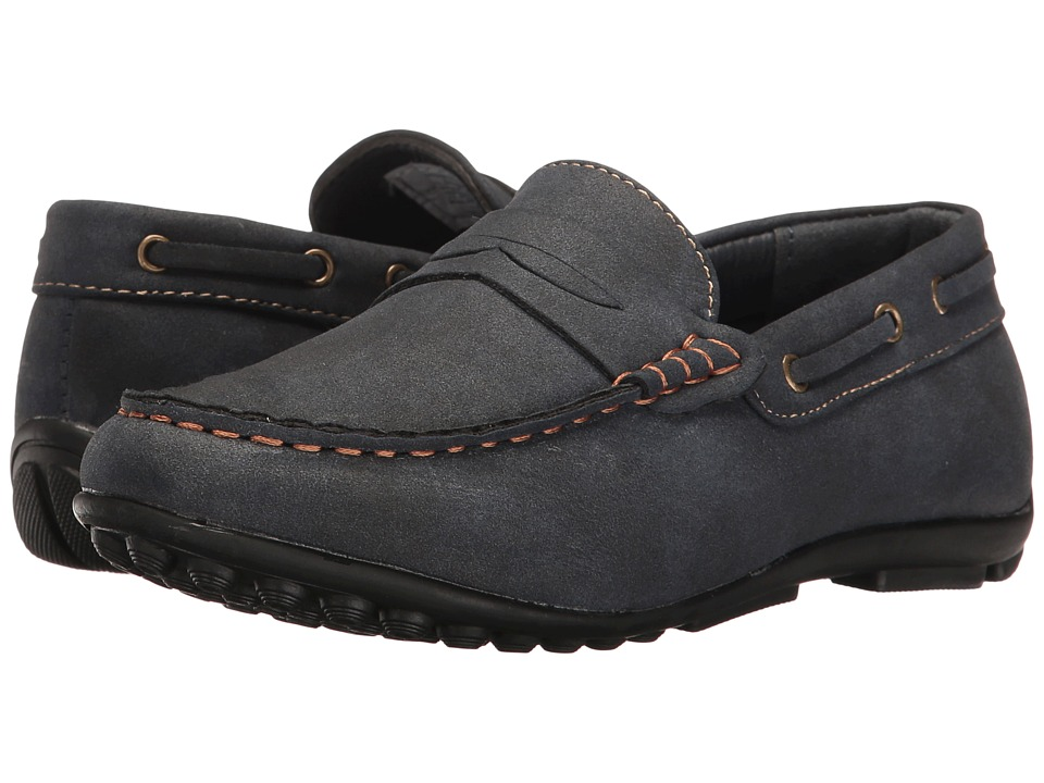 Steve Madden Kids Bpennyy (Toddler/Little Kid/Big Kid) (Navy) Boy's Shoes