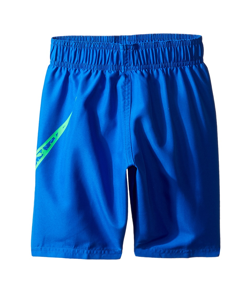 Nike Kids Core Solid Swoosh 7 Volley Short (Little Kids) (Hyper Cobalt) Boy