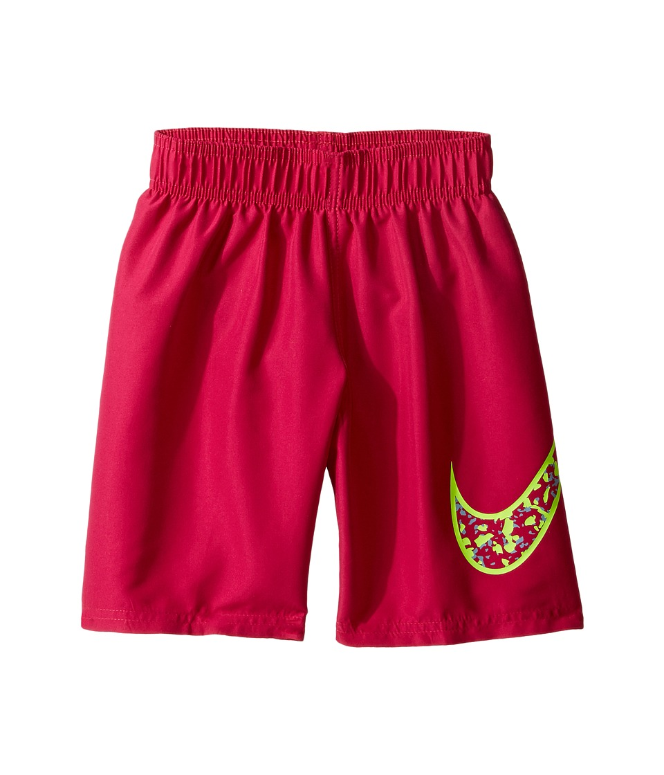 Nike Kids Core Solid Swoosh 7 Volley Short (Little Kids) (Sport Fuchsia) Boy