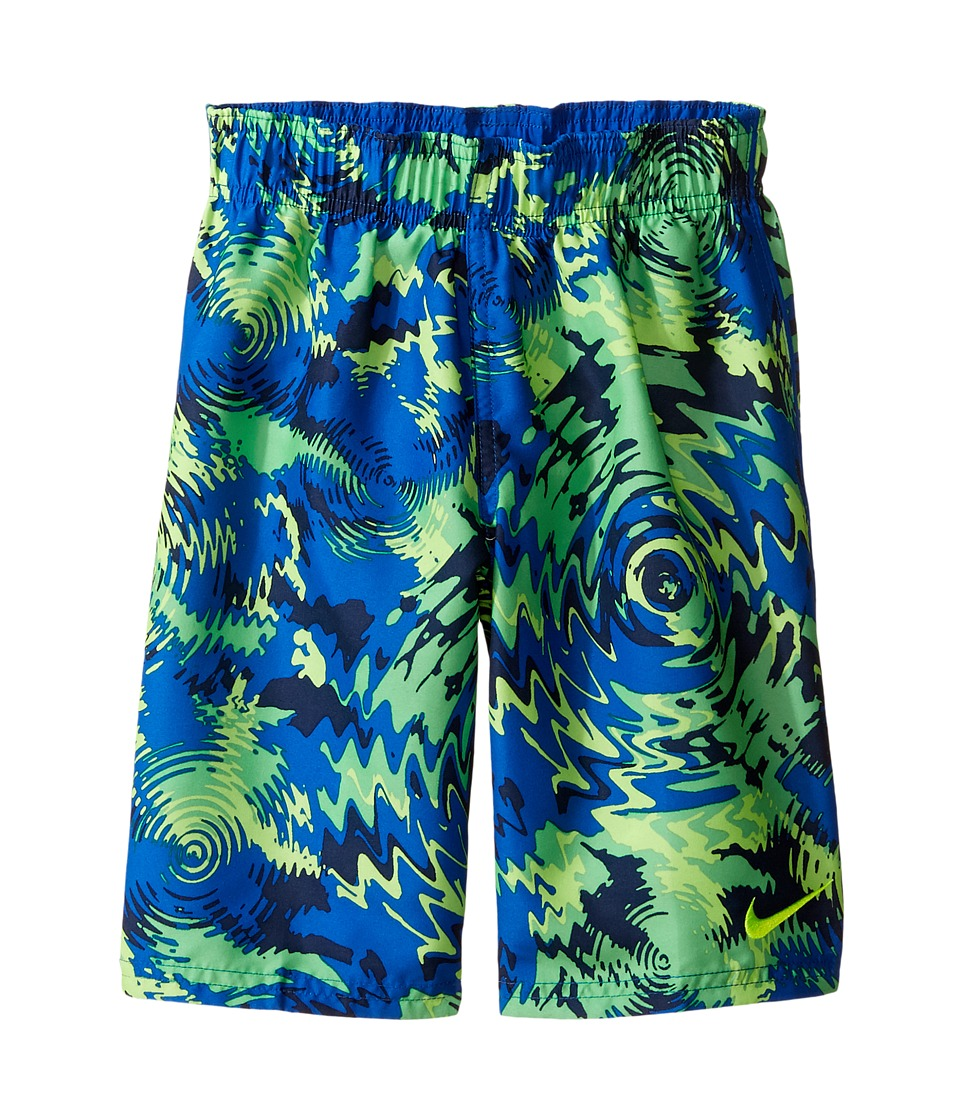 Nike Kids Watercamo 7 Trunk (Little Kids) (Hyper Cobalt) Boy