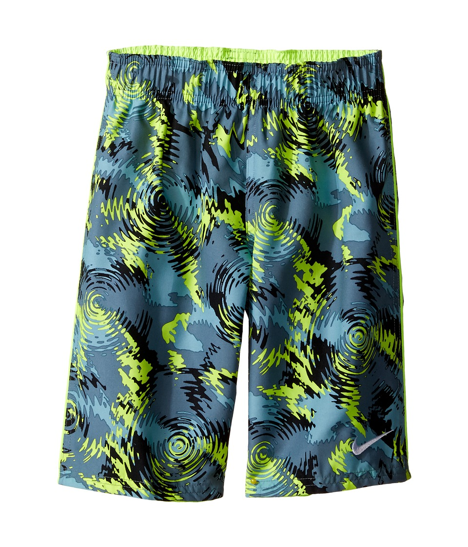 Nike Kids - Watercamo 7 Trunk (Little Kids) (Volt) Boys Swimwear