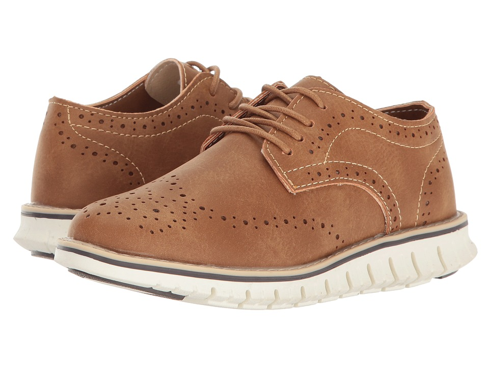 Steve Madden Kids Bmat (Little Kid/Big Kid) (Cognac) Boy's Shoes