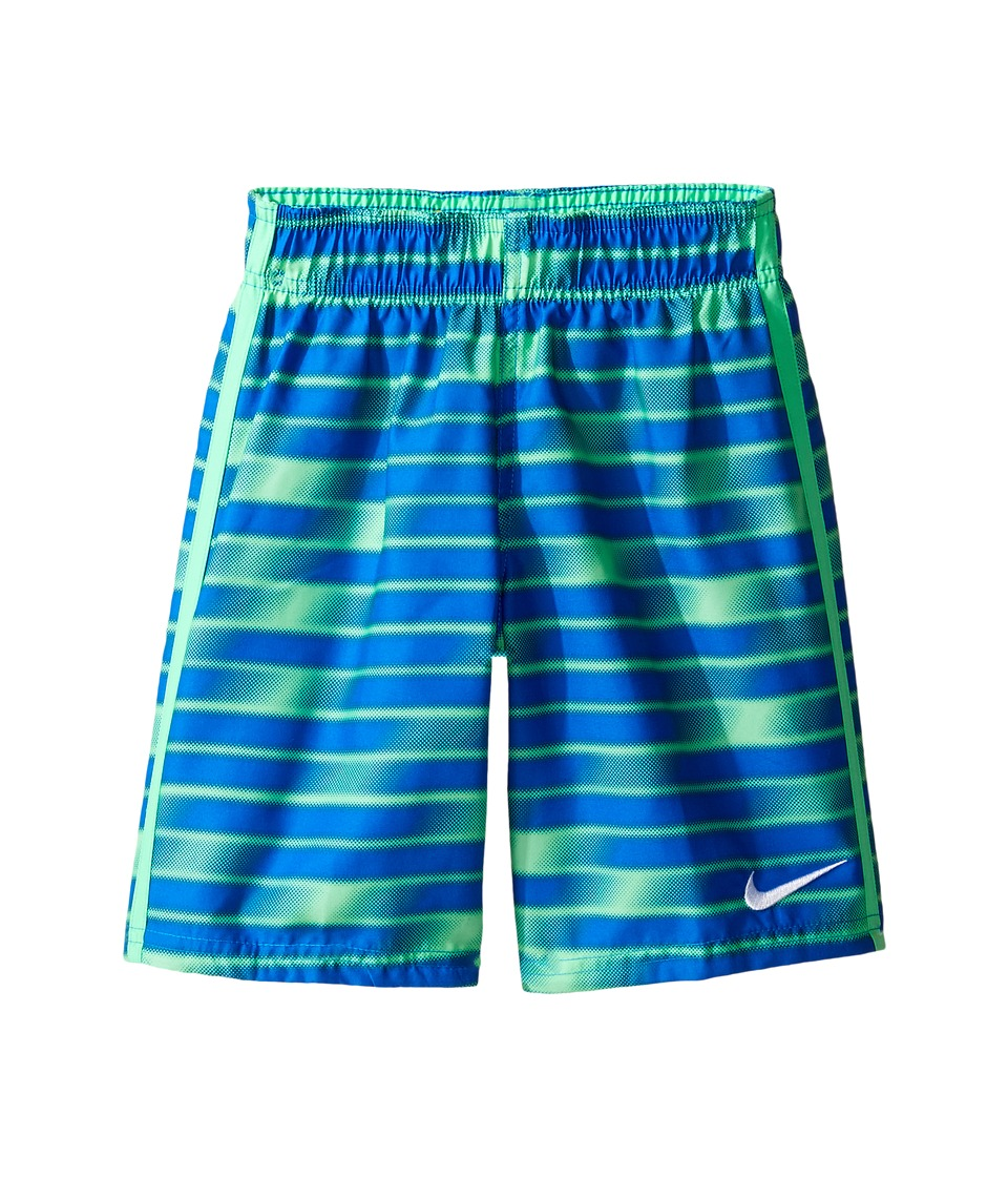 Nike Kids Blurred 7 Trunk (Little Kids) (Electro Green) Boy