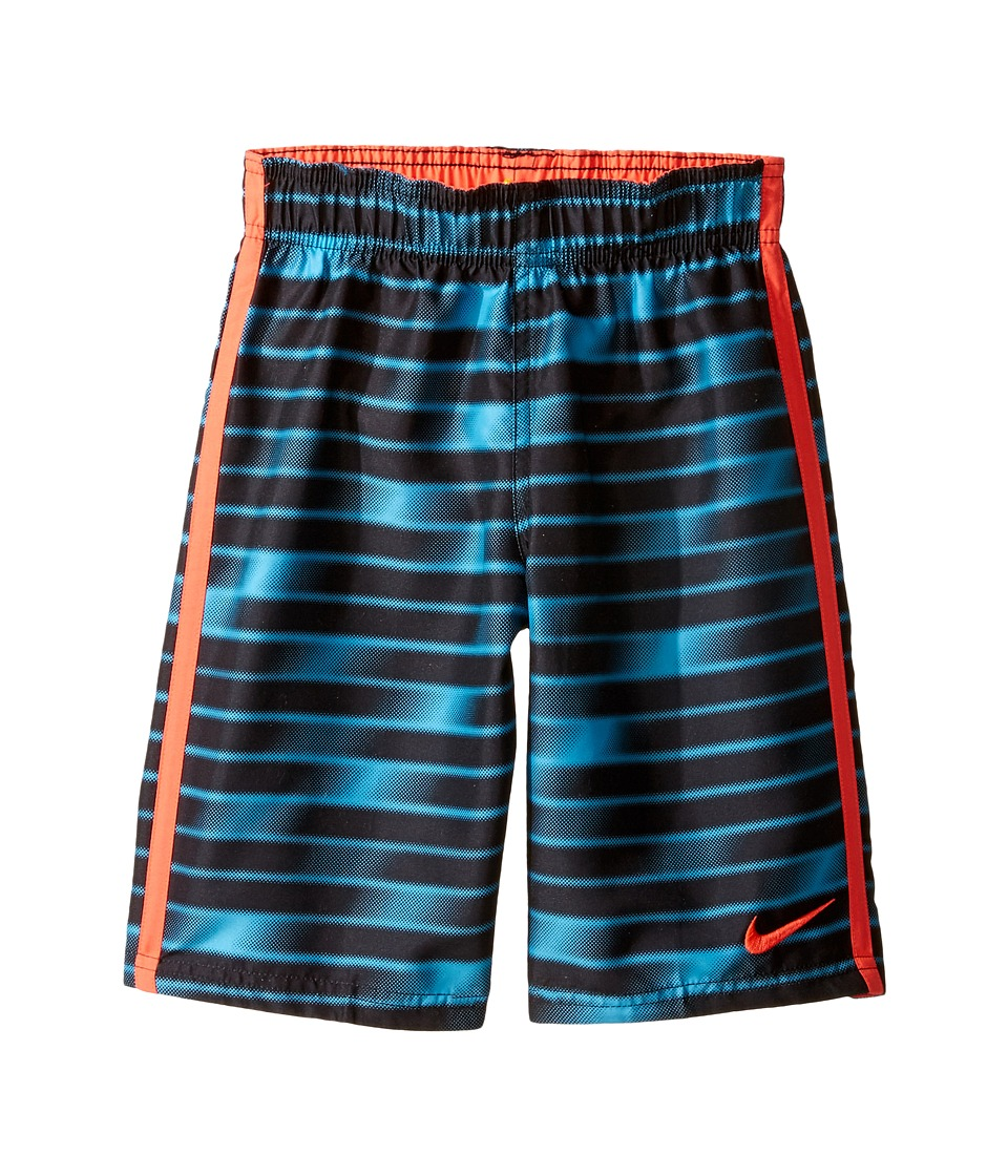 Nike Kids Blurred 7 Trunk (Little Kids) (Chlorine Blue) Boy