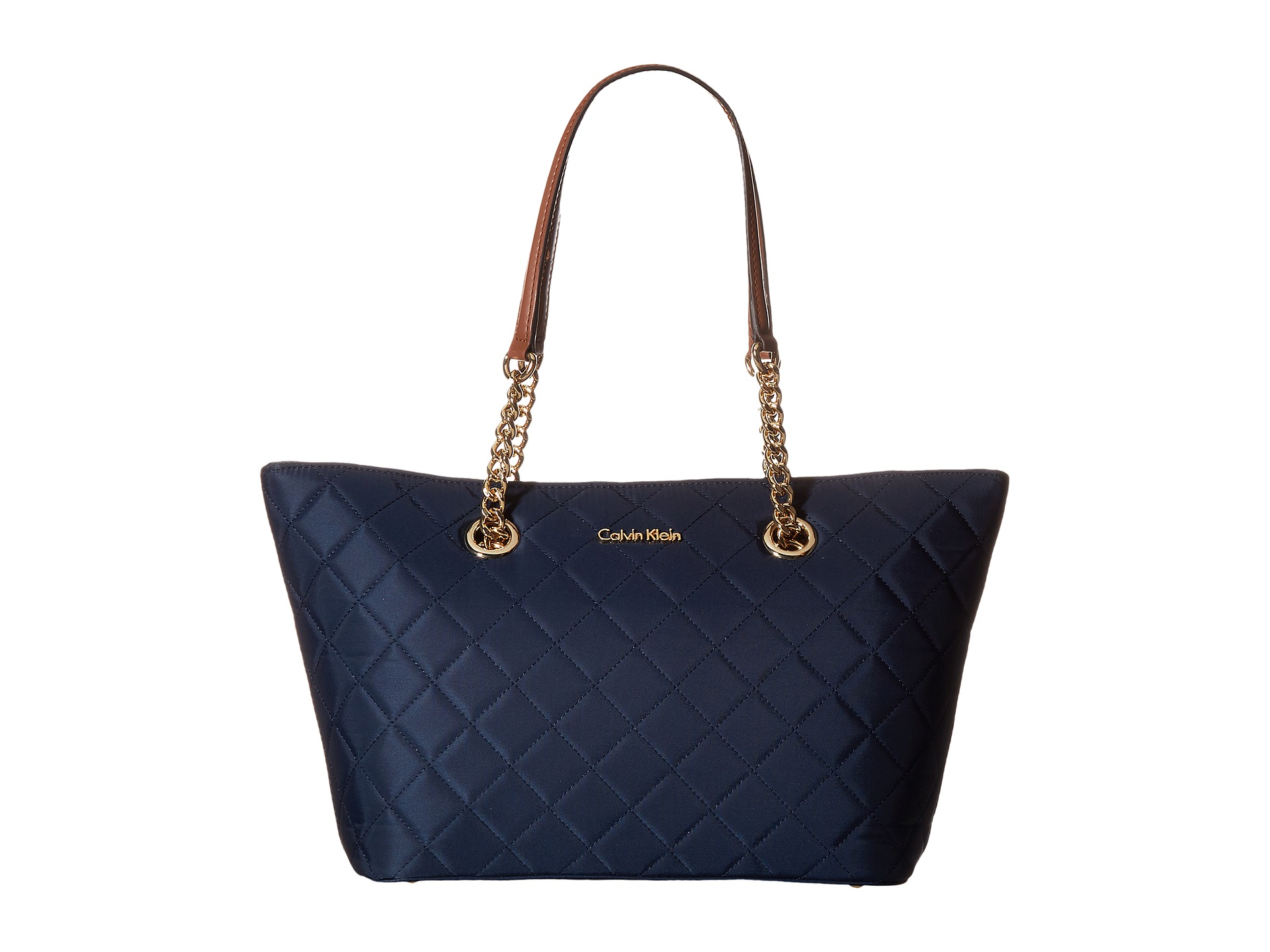 Calvin Klein Dressy Nylon Quilted Tote Zappos Com Free