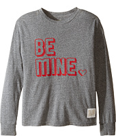 The Original Retro Brand Kids - Be Mine Long Sleeve Tri-Blend Tee