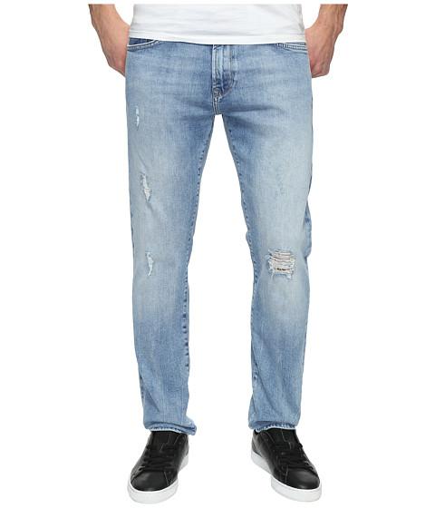 Mavi Jeans Jake Regular Rise Slim in Light Ripped - Light Ripped