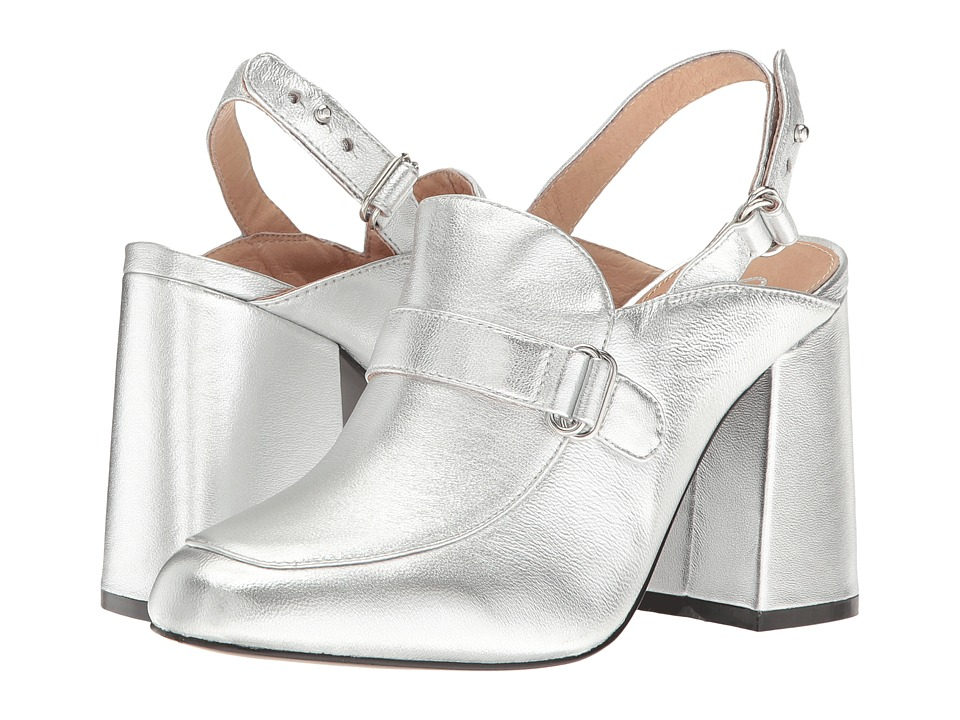 Shellys London Charity (Silver Leather) High Heels