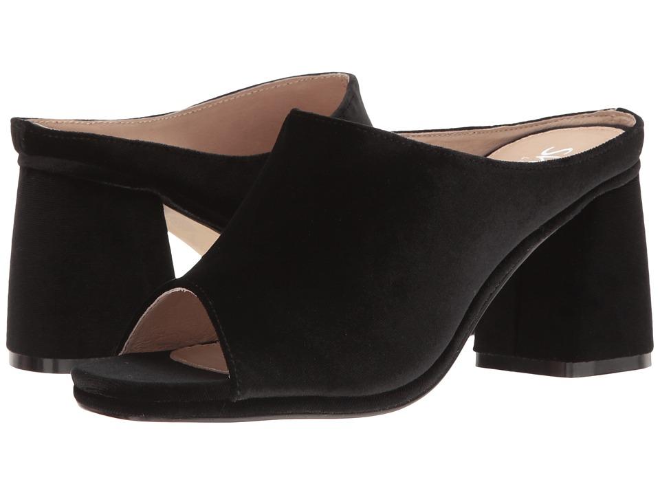 Shellys London Charolette (Black Velvet) High Heels